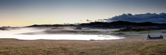 Misty morning in Shetland
