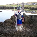 One of our little vikings