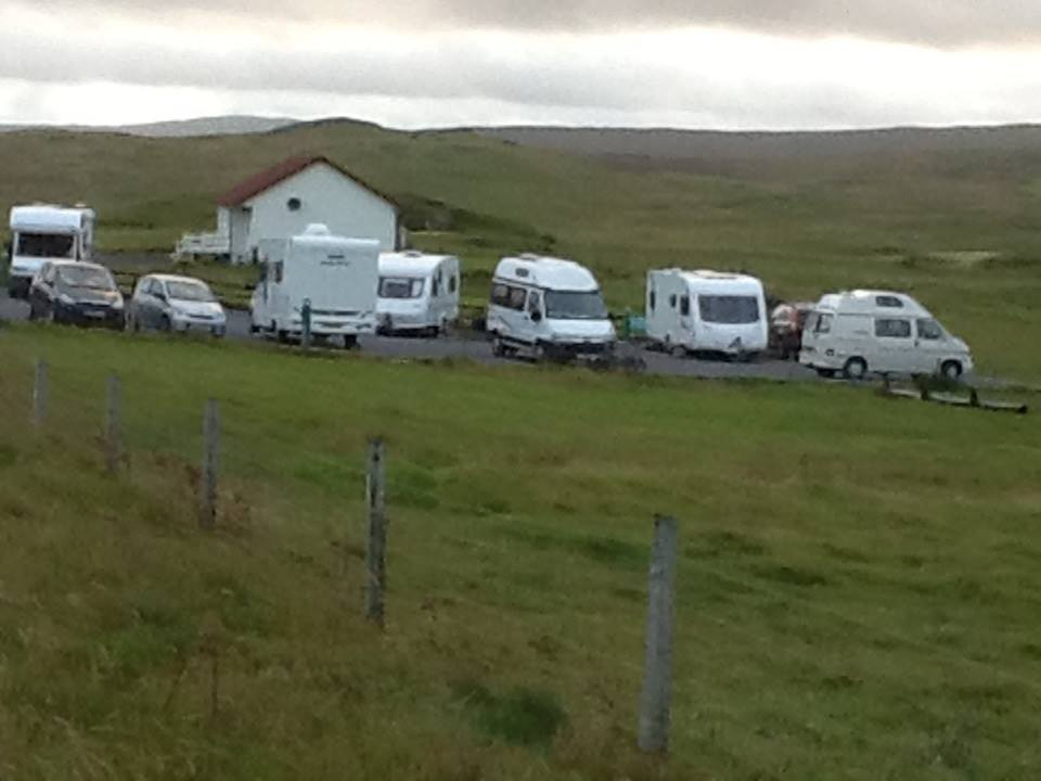 Caravan park fro other side