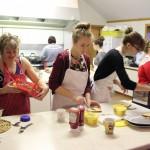 The community preparing the 2015 Jarl Squads breakfast